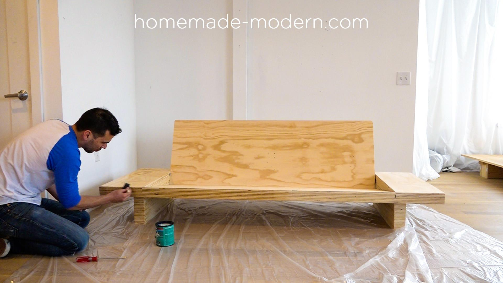 Homemade Modern Ep111 Plywood Table