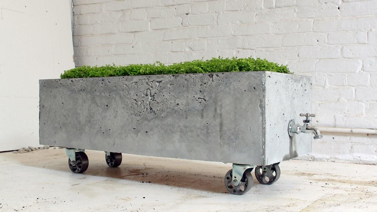 Homemade Modern Episode Diy Concrete Planter Vimeo