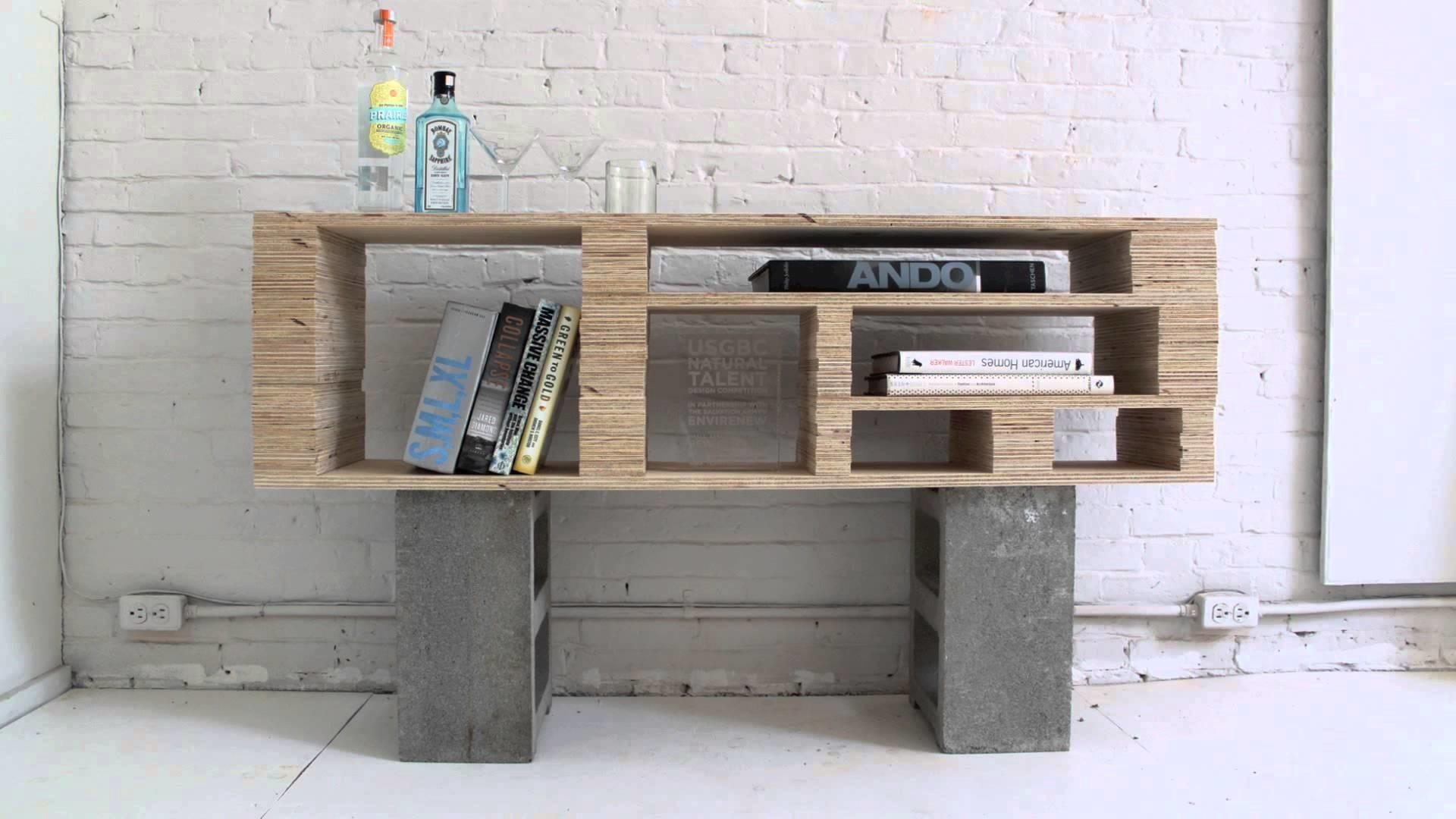 Homemade Modern Episode Diy Plywood Media Console