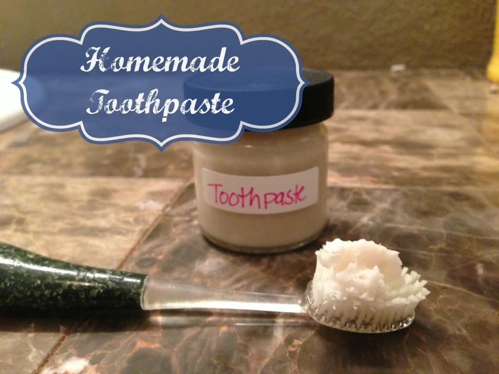 Homemade Natural Toothpaste Health Starts Kitchen