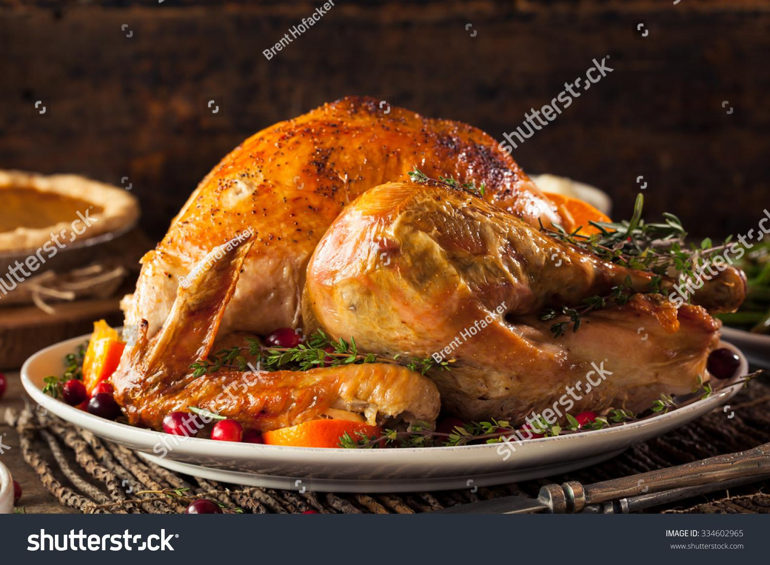 Homemade Roasted Thanksgiving Day Turkey All
