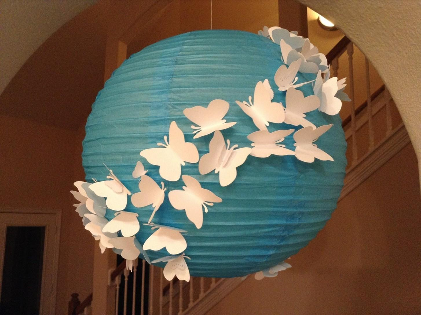 Homemade Round Paper Lanterns