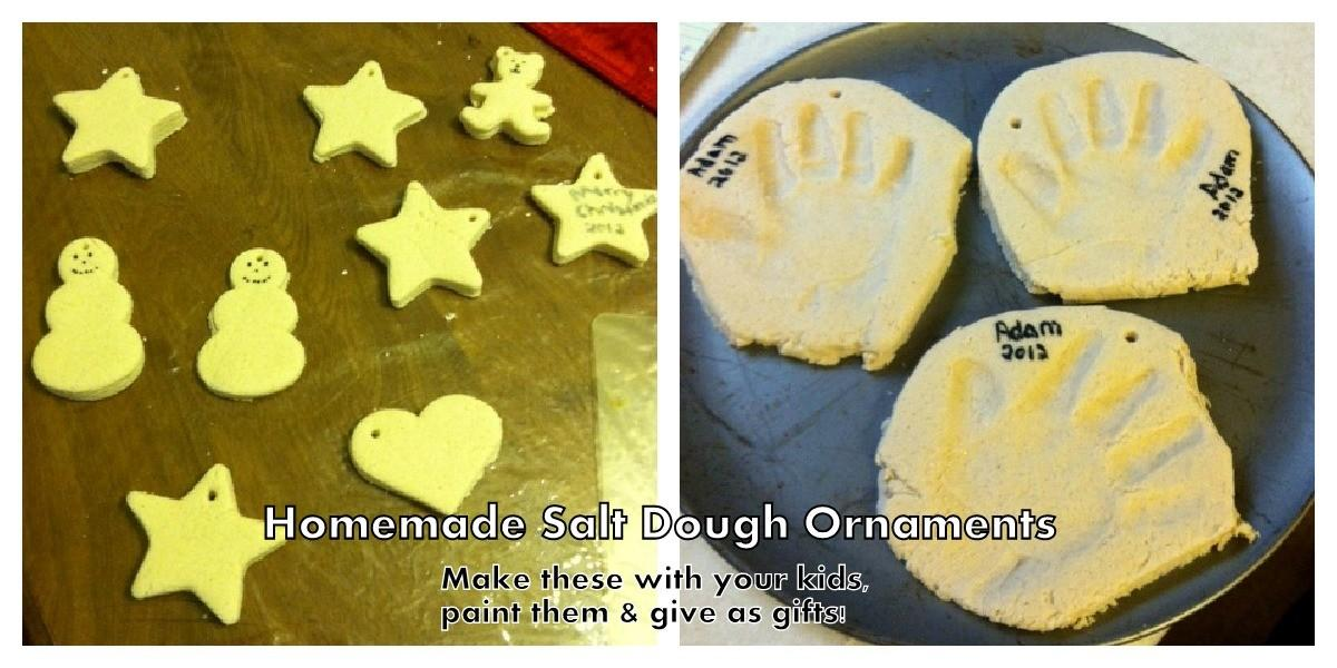 Homemade Salt Dough Ornaments Singing Through Rain