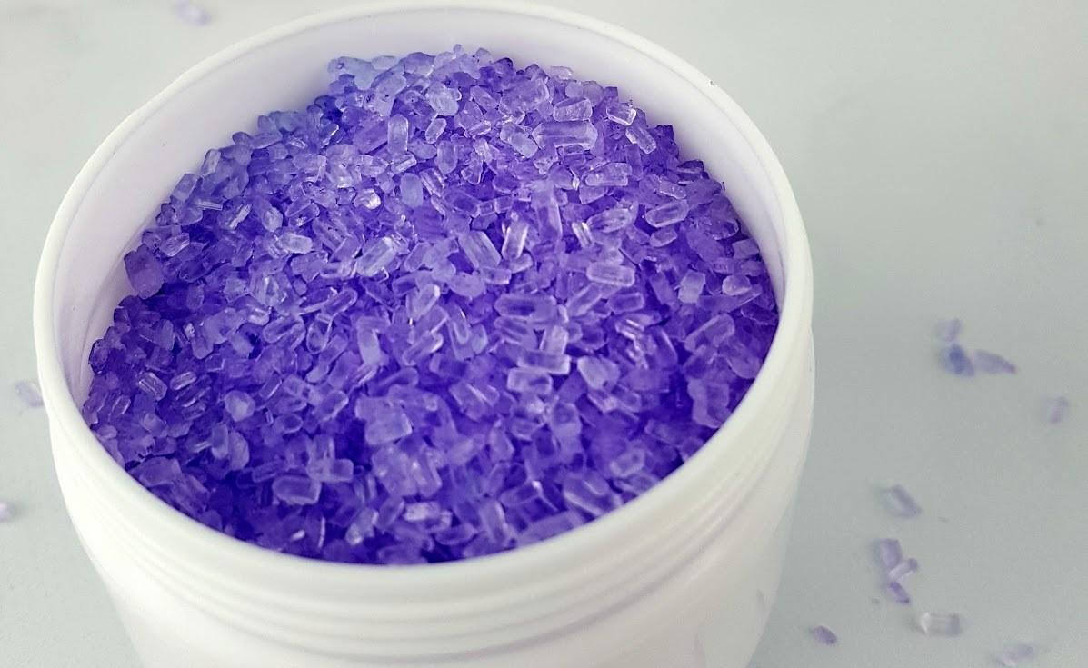 Homemade Spa Gift Lavender Bath Salts Imperfect Homemaker
