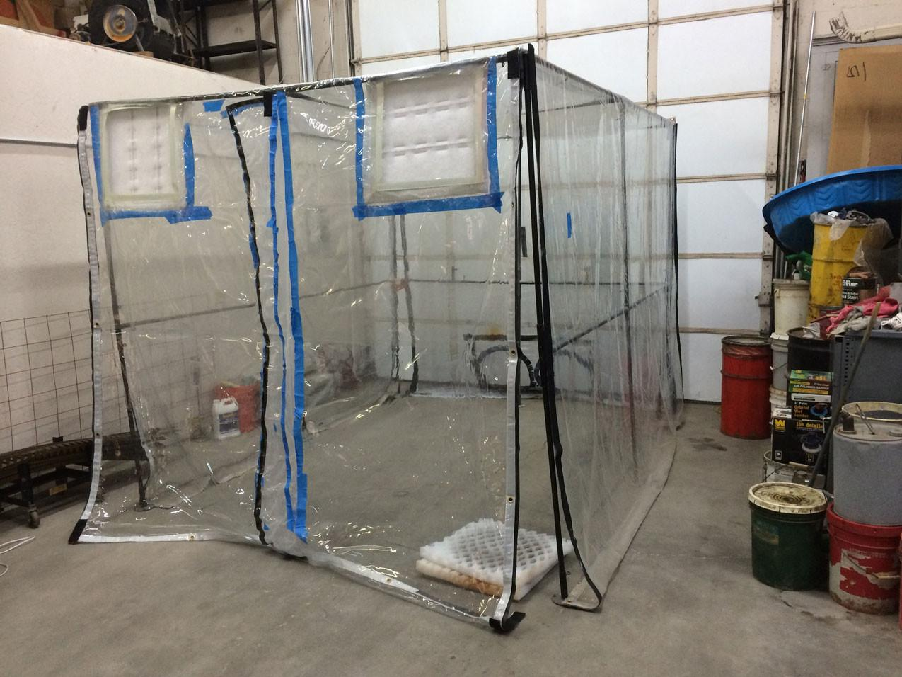 Image of Diy Spray Painting Tent You'll