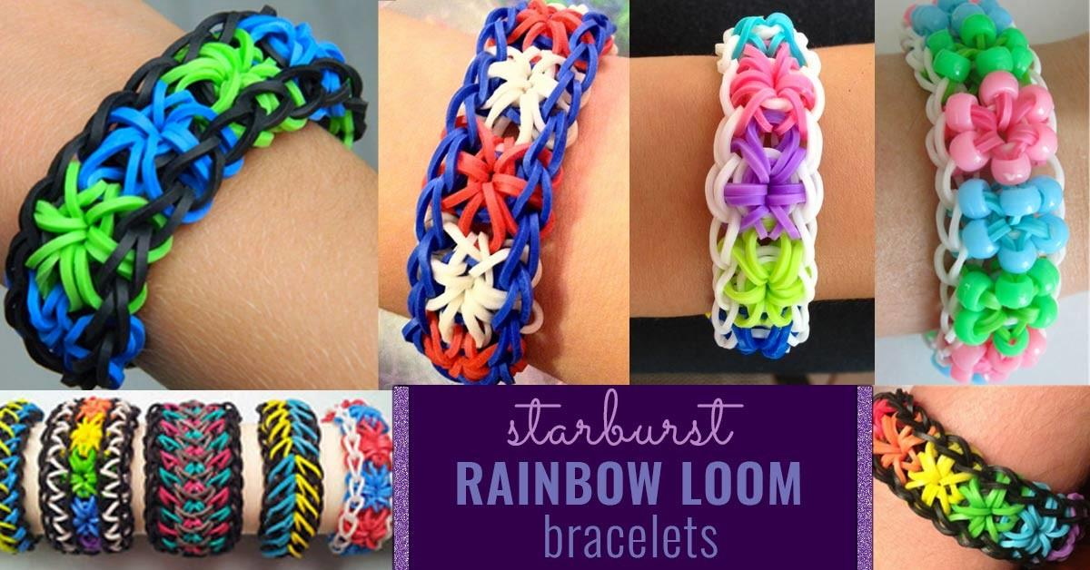 Homemade Starburst Loom Crazy