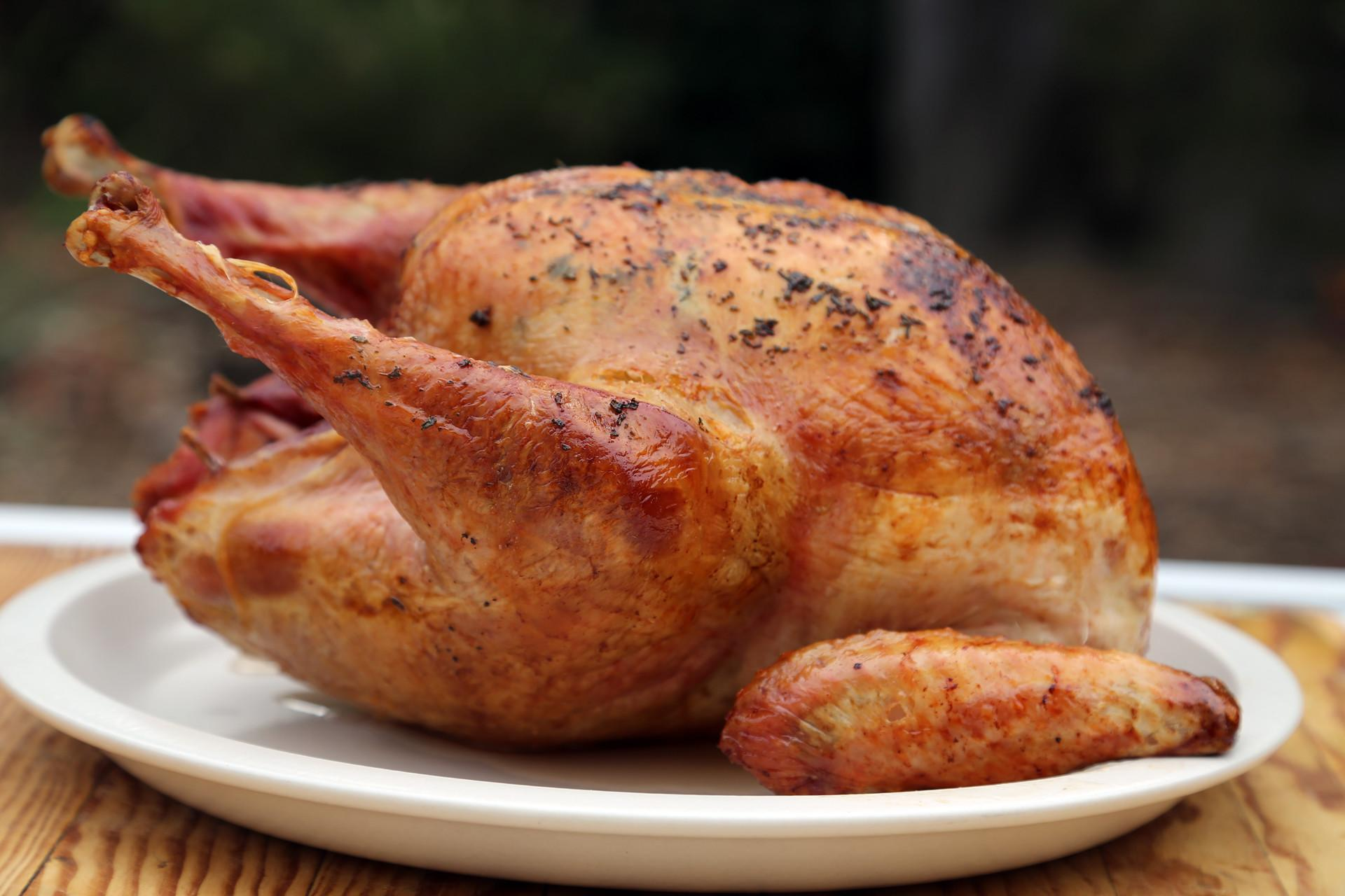 Homemade Thanksgiving Classic Dry Brined Butter