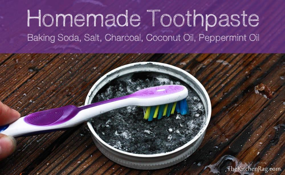 Homemade Tooth Paste Recipe Kitchen Rag