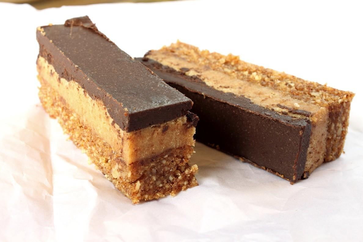 Homemade Twix Bar Gluten Dairy Grain