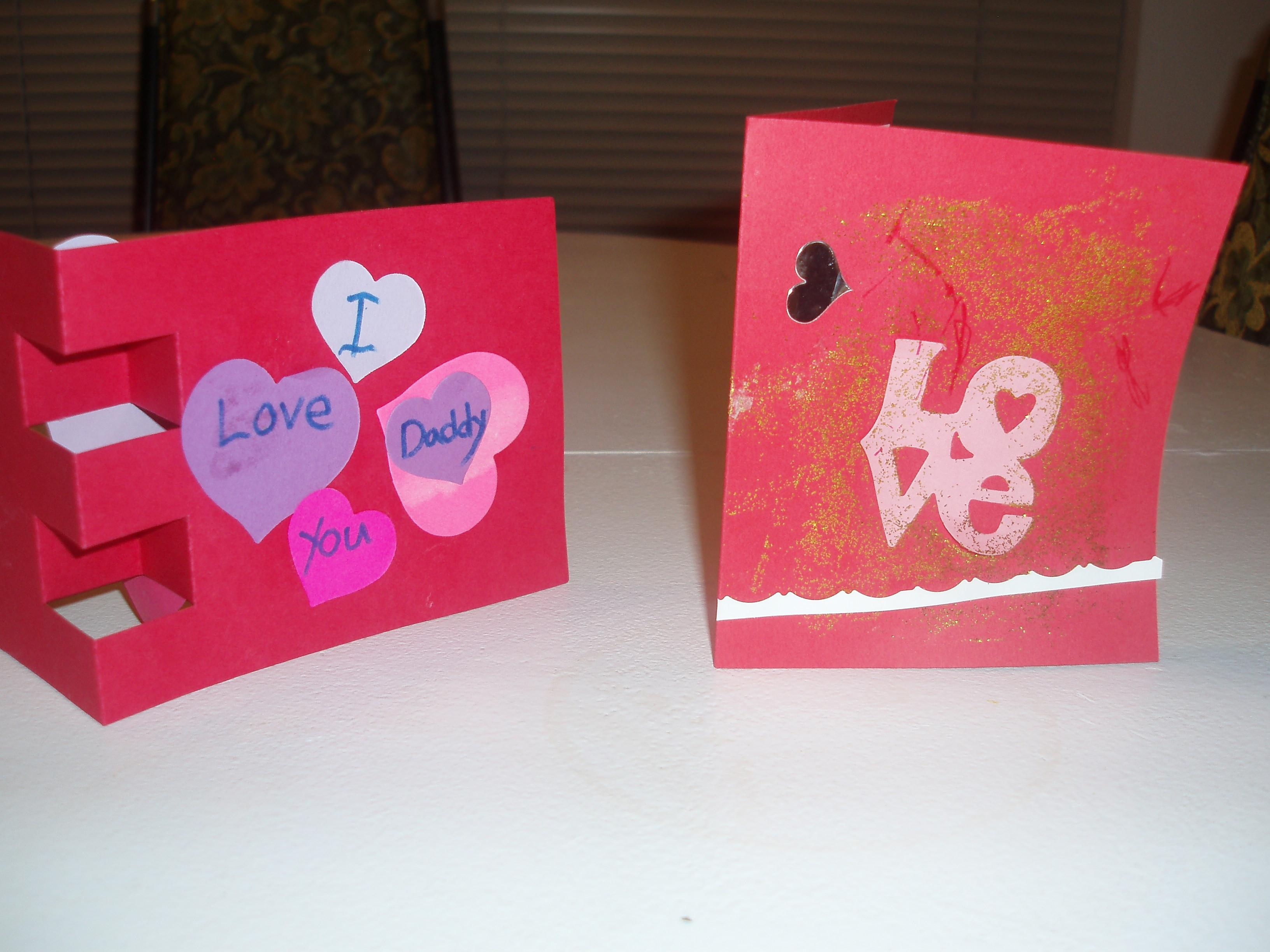Homemade Valentine Day Cards Video