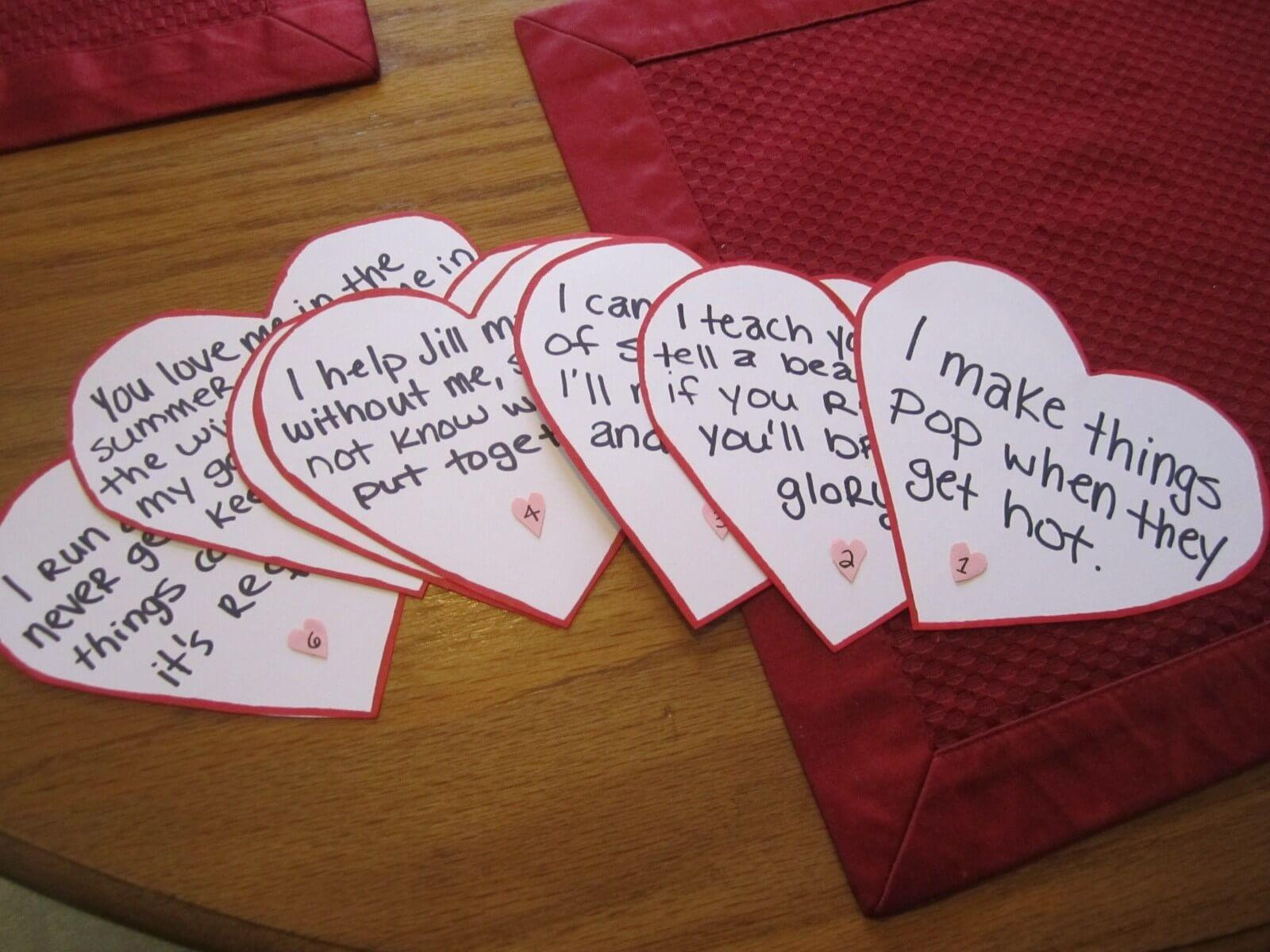 Homemade Valentines Day Gift Ideas Him