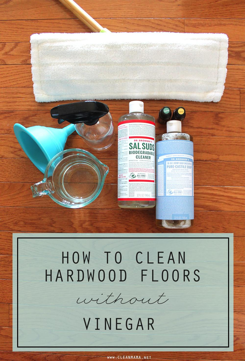 Homemade Wood Floor Cleaner Without