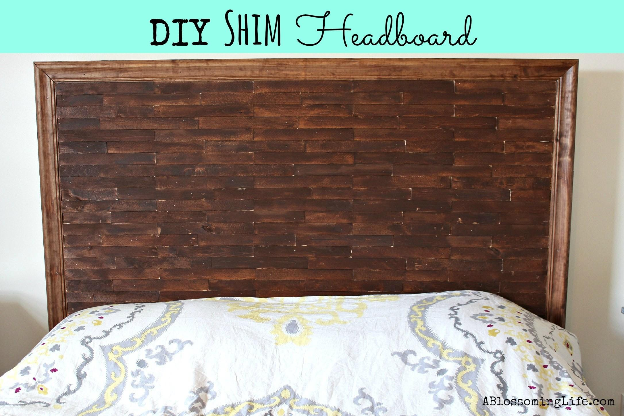 Homemade Wooden Headboards Stikwood Headboard