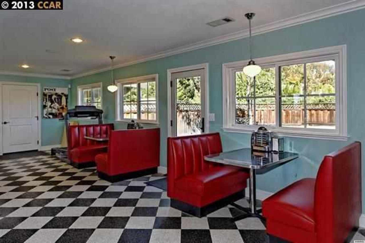Homes Sale 1950s Style Diner Inside Huffpost