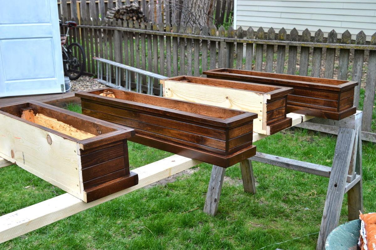 Hometalk Build Window Wood Box Planters