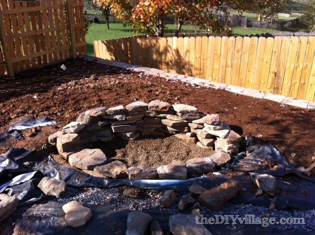 Hometalk Building Stacked Stone Fire Pit
