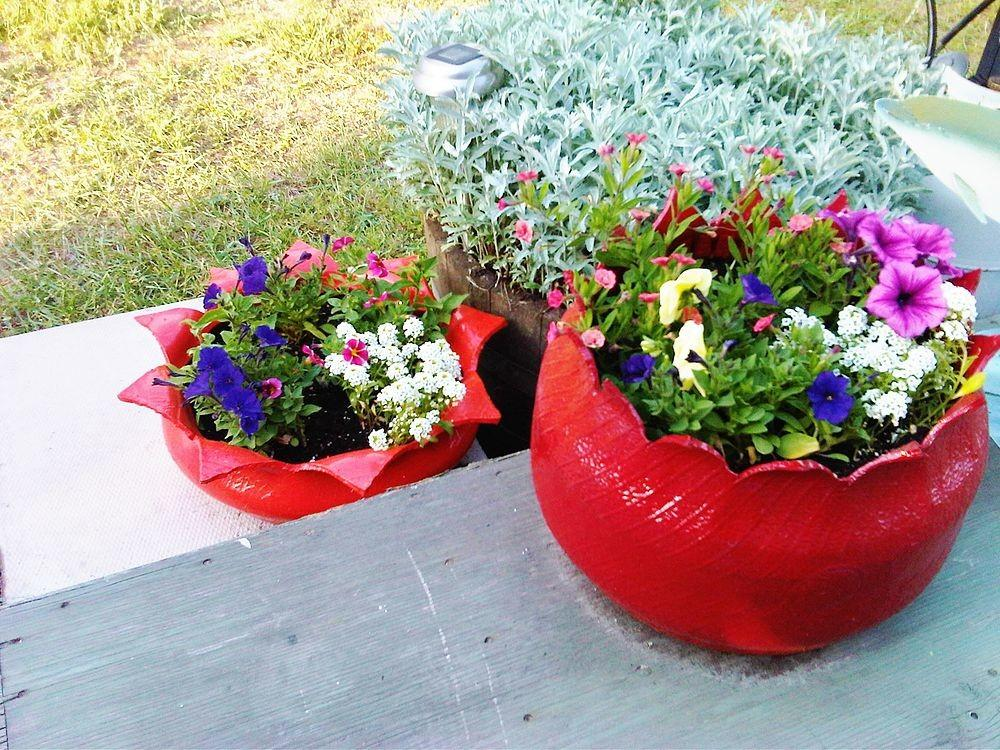 Hometalk Create Flower Planter Old Tire