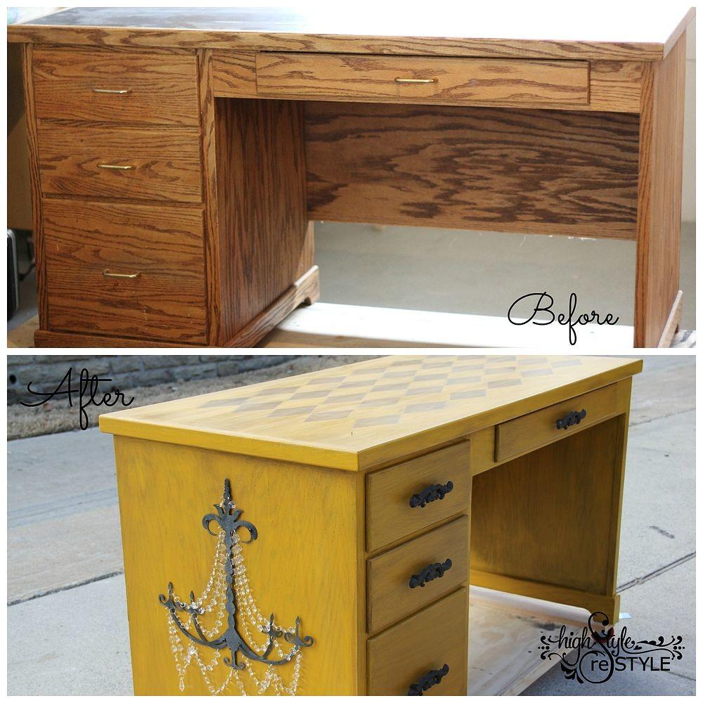 Hometalk Desk Makeover Ideas