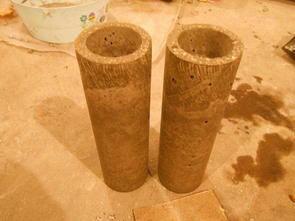 Hometalk Diy Concrete Candle Holders Pringle