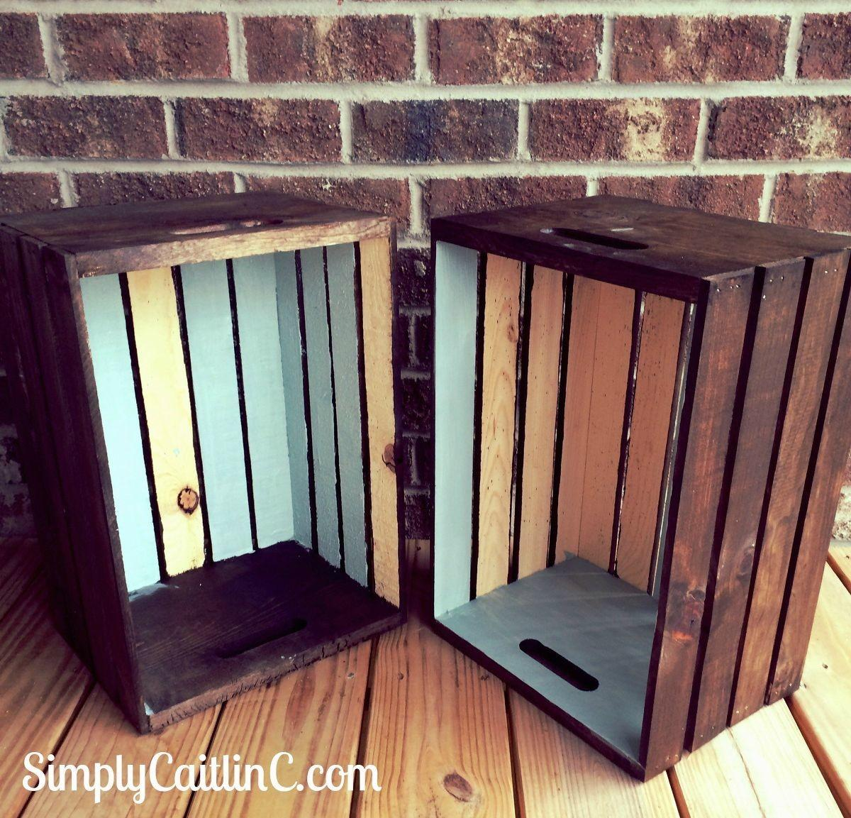 Hometalk Easy Weekend Project Your Leftover Crates