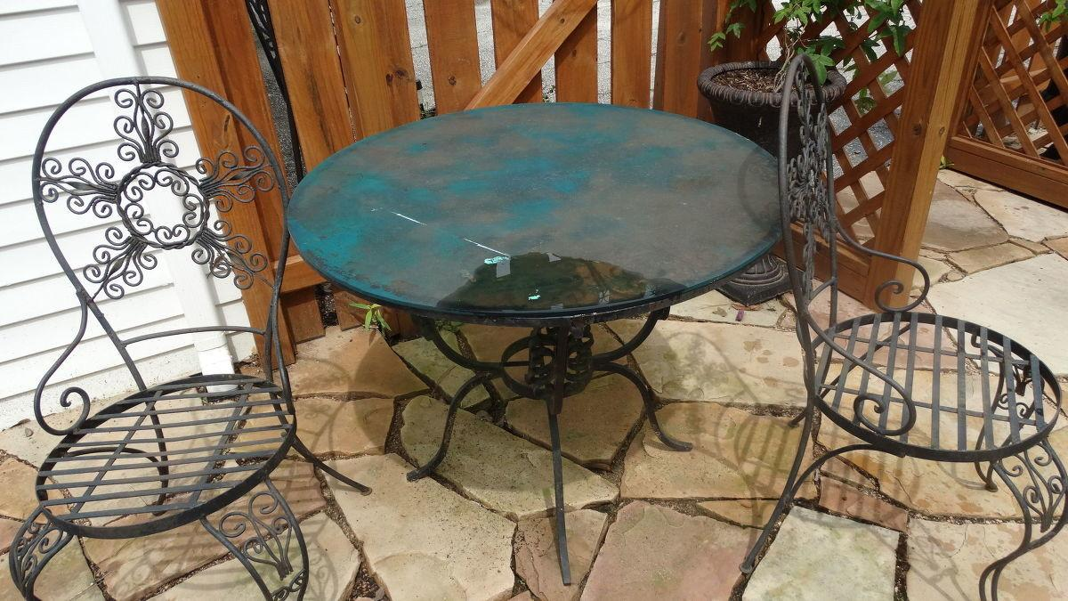 Hometalk Patio Table Makeover Inspired Cutting Edge