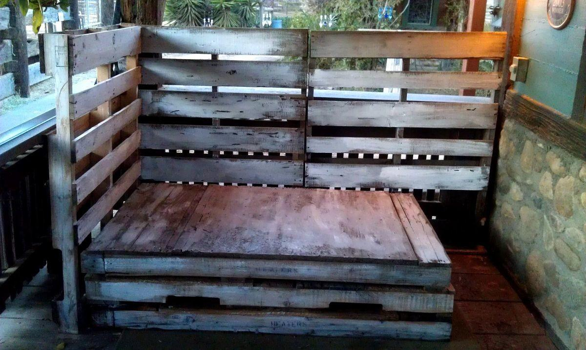 Hometalk Ranch Style Rustic Pallet Daybed
