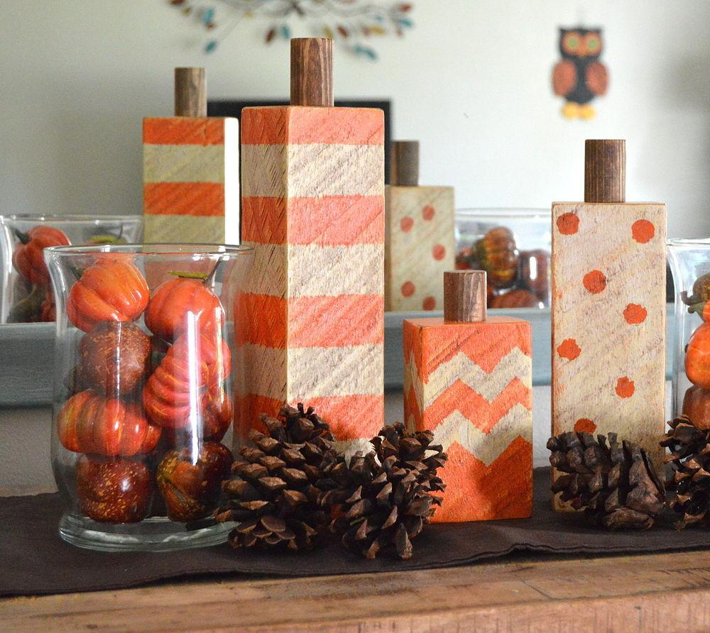 Hometalk Wood Pumpkins Deborah Clipboard
