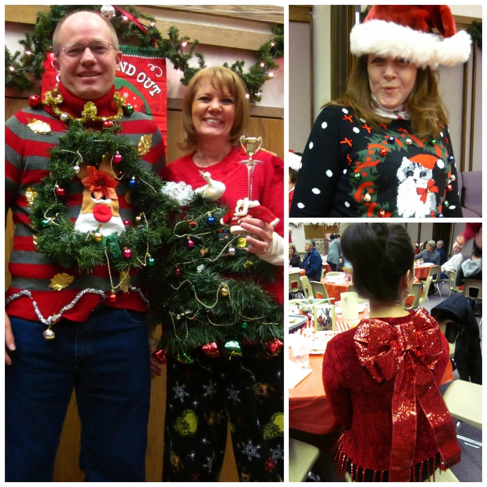 Honey Home Ugly Christmas Sweater Party Fun
