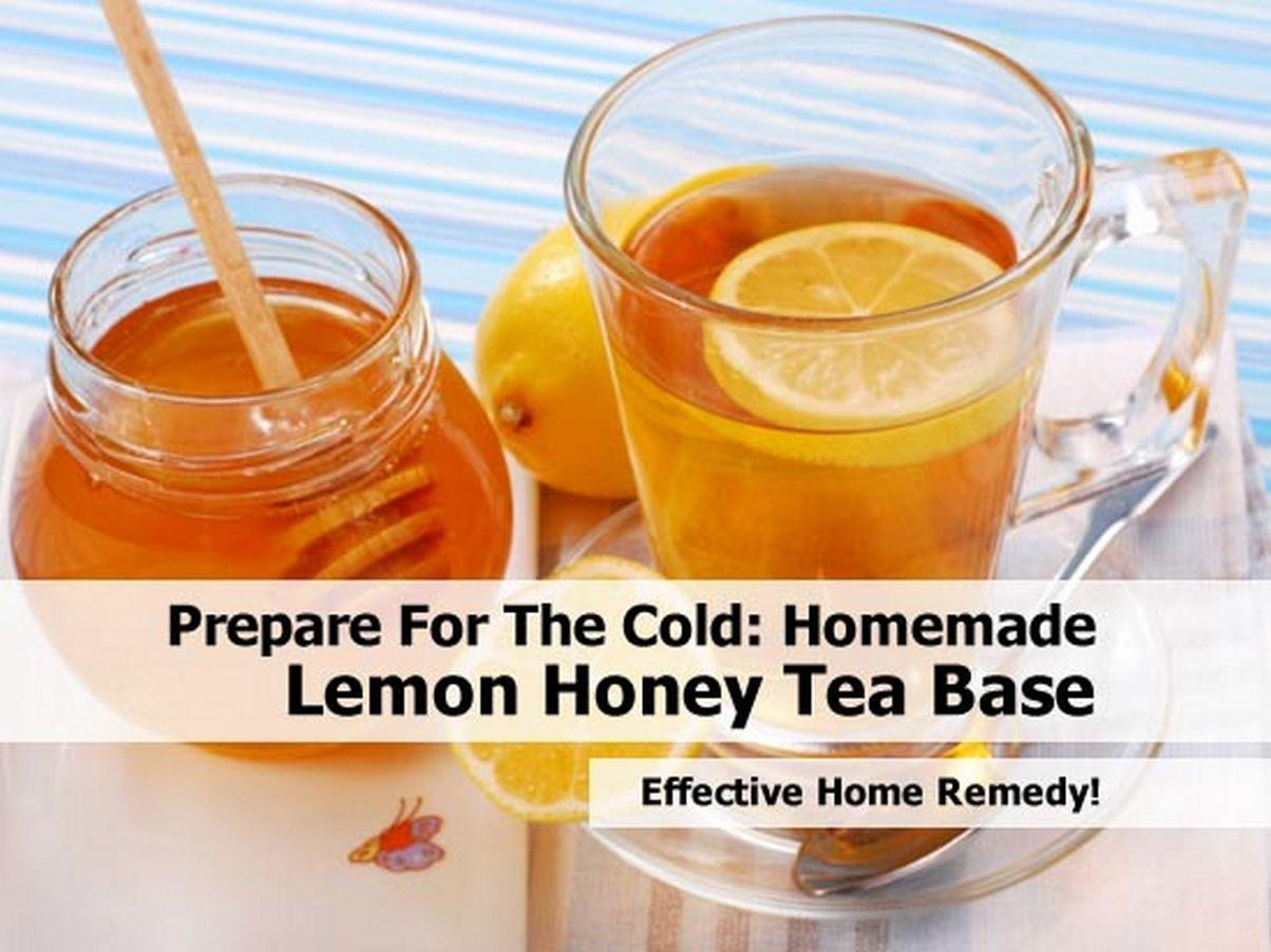 Honey Lemon Tea Recipe Dishmaps