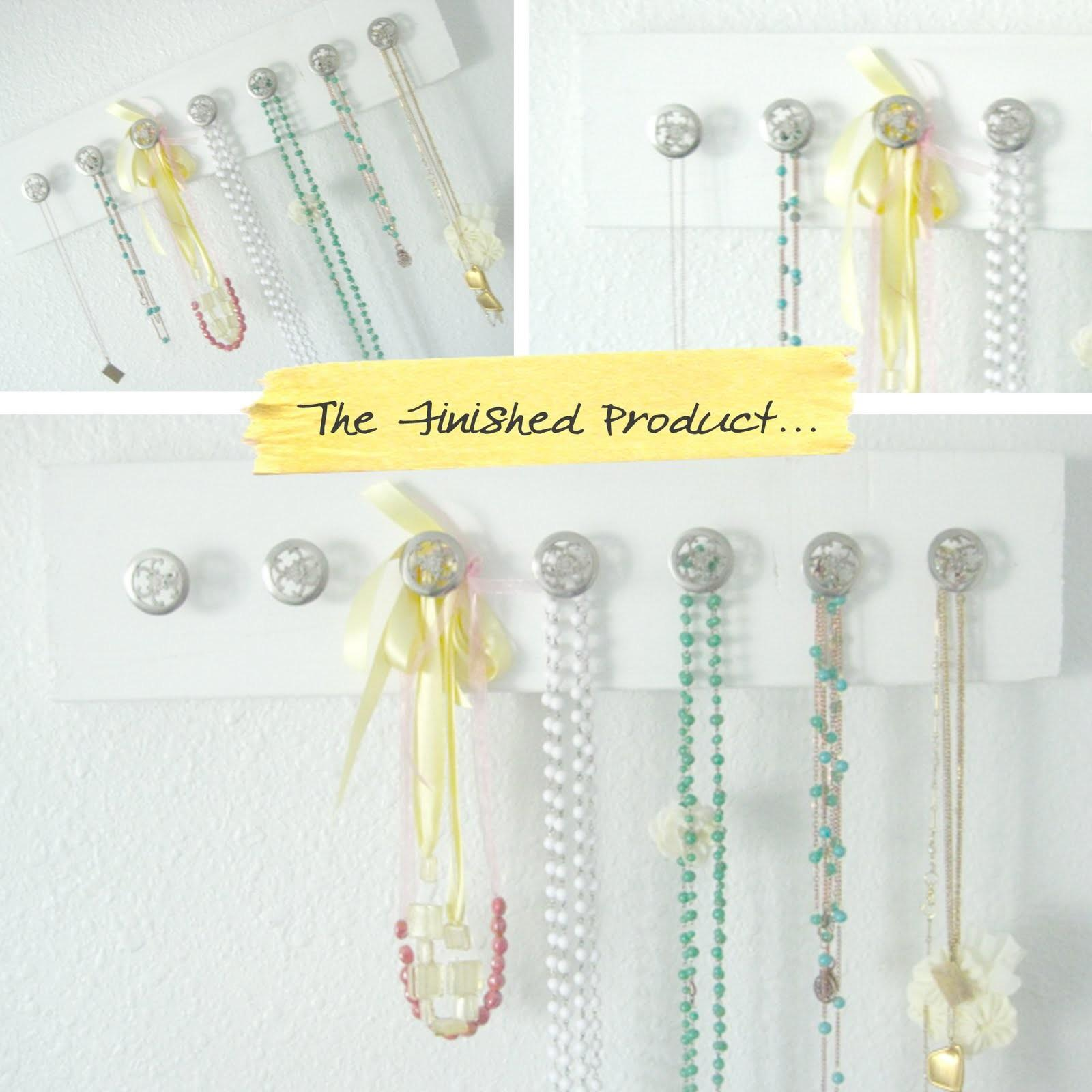 Honor Design Thursday Diy Jewelry Hangers