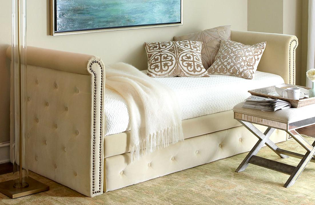 Horchow Tufted Daybed Decoist
