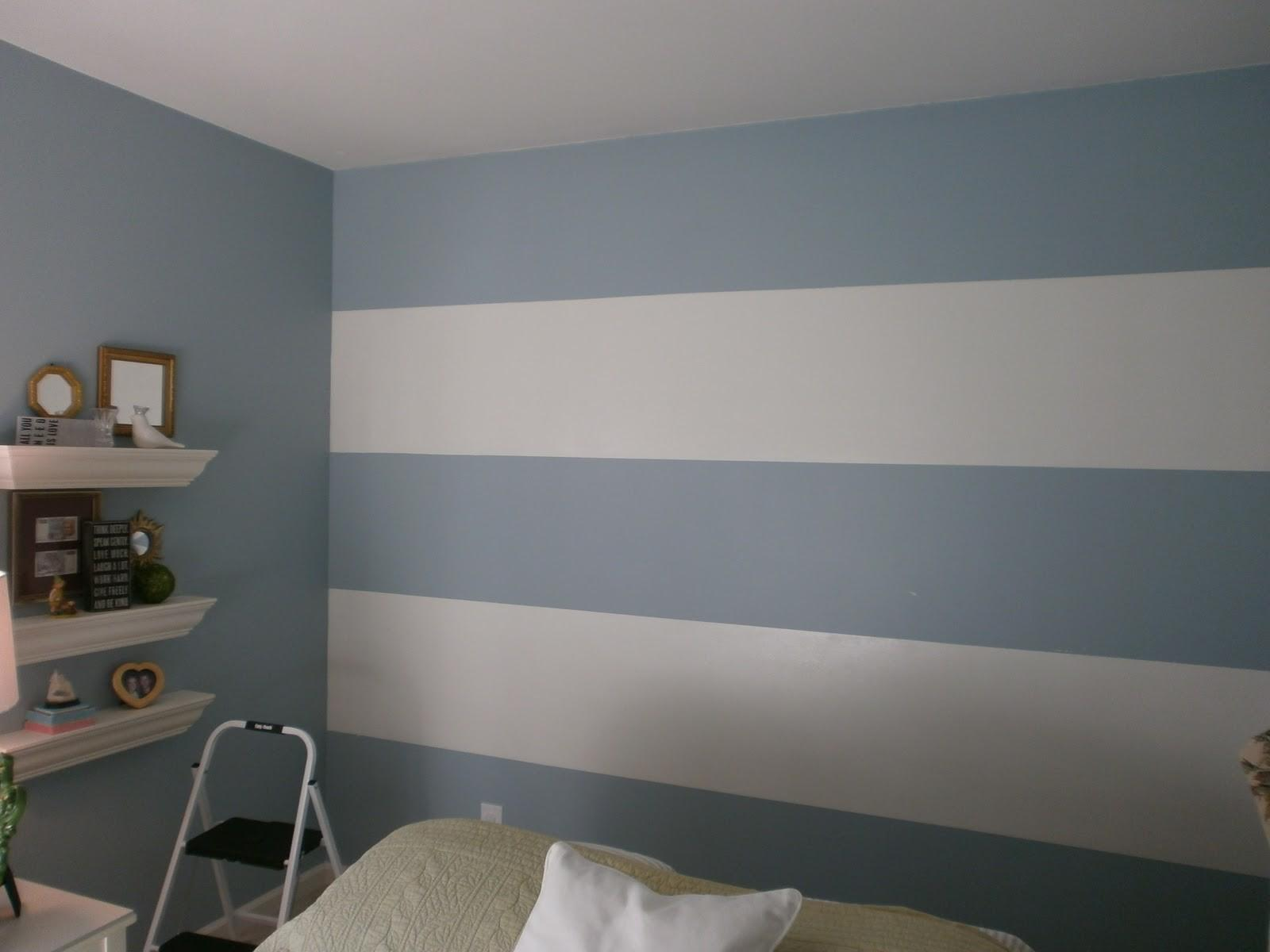 Horizontal Stripes Before After