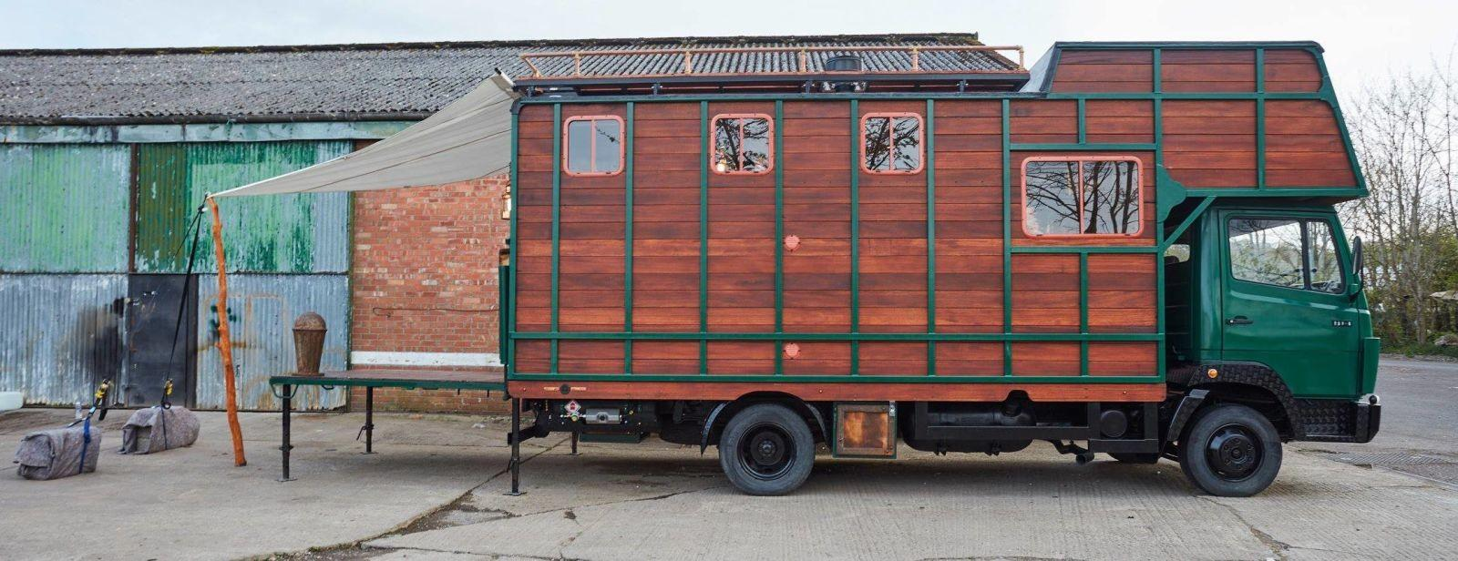 Horse Truck Completely Transformed Into
