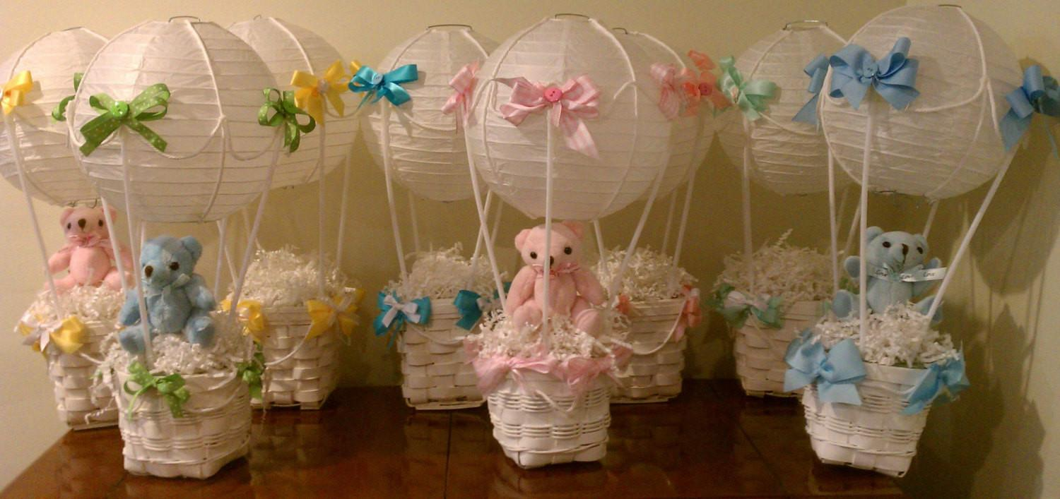 Hot Air Balloon Baby Wedding Shower Graduation Centerpieces