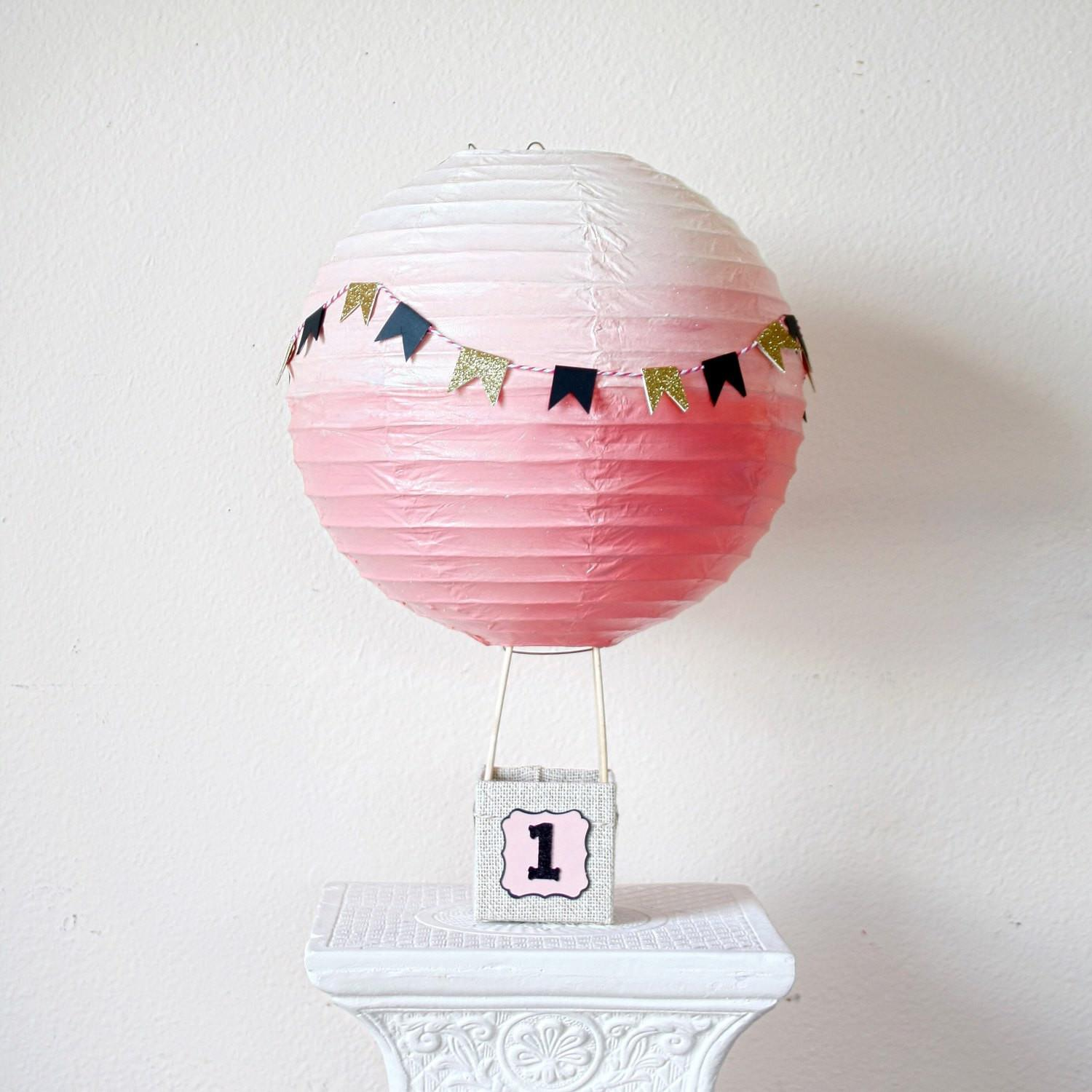 Hot Air Balloon Decorations Baby Shower Centerpiece