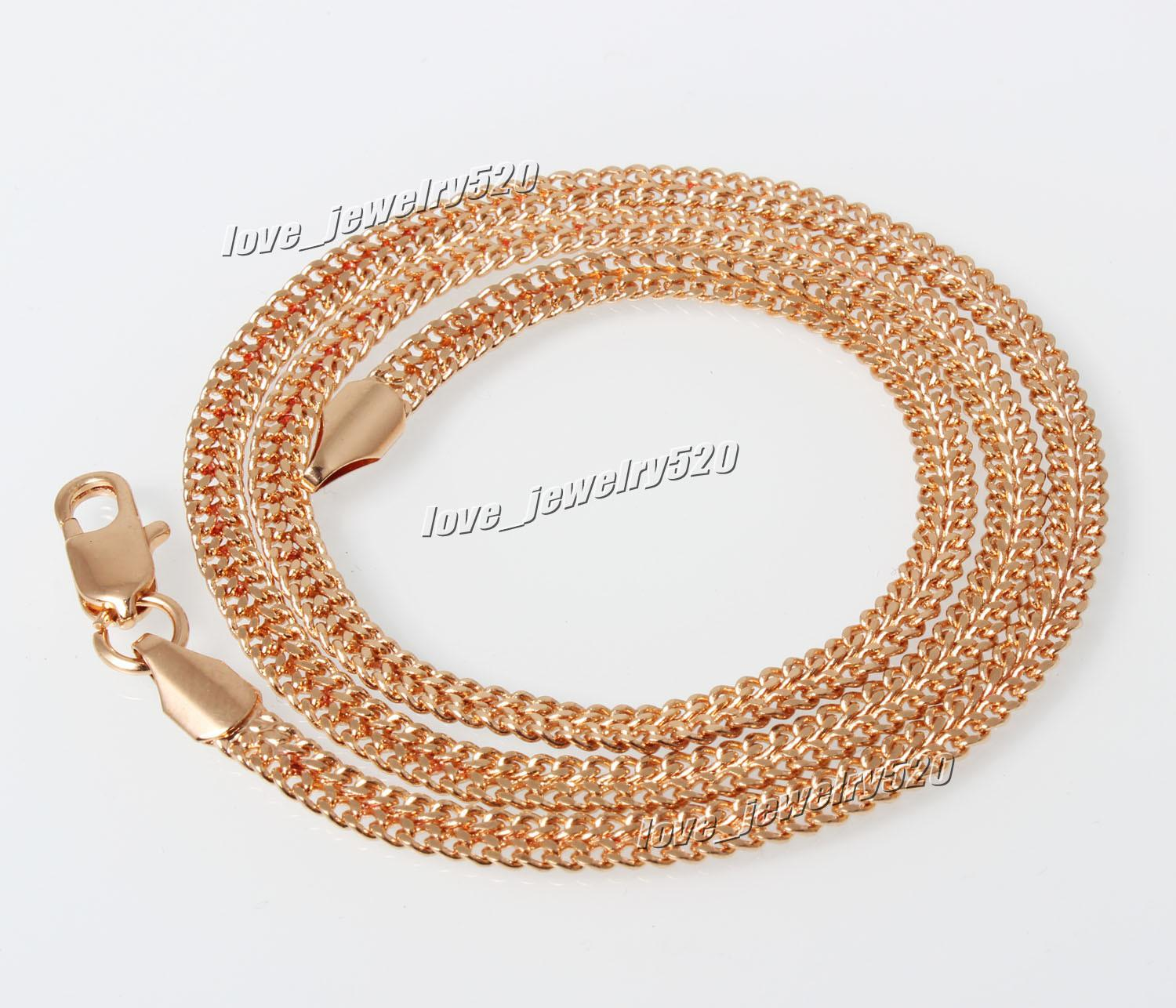 Hot Fashion Exquisite 18k Genuine Jewelry Gold Filled