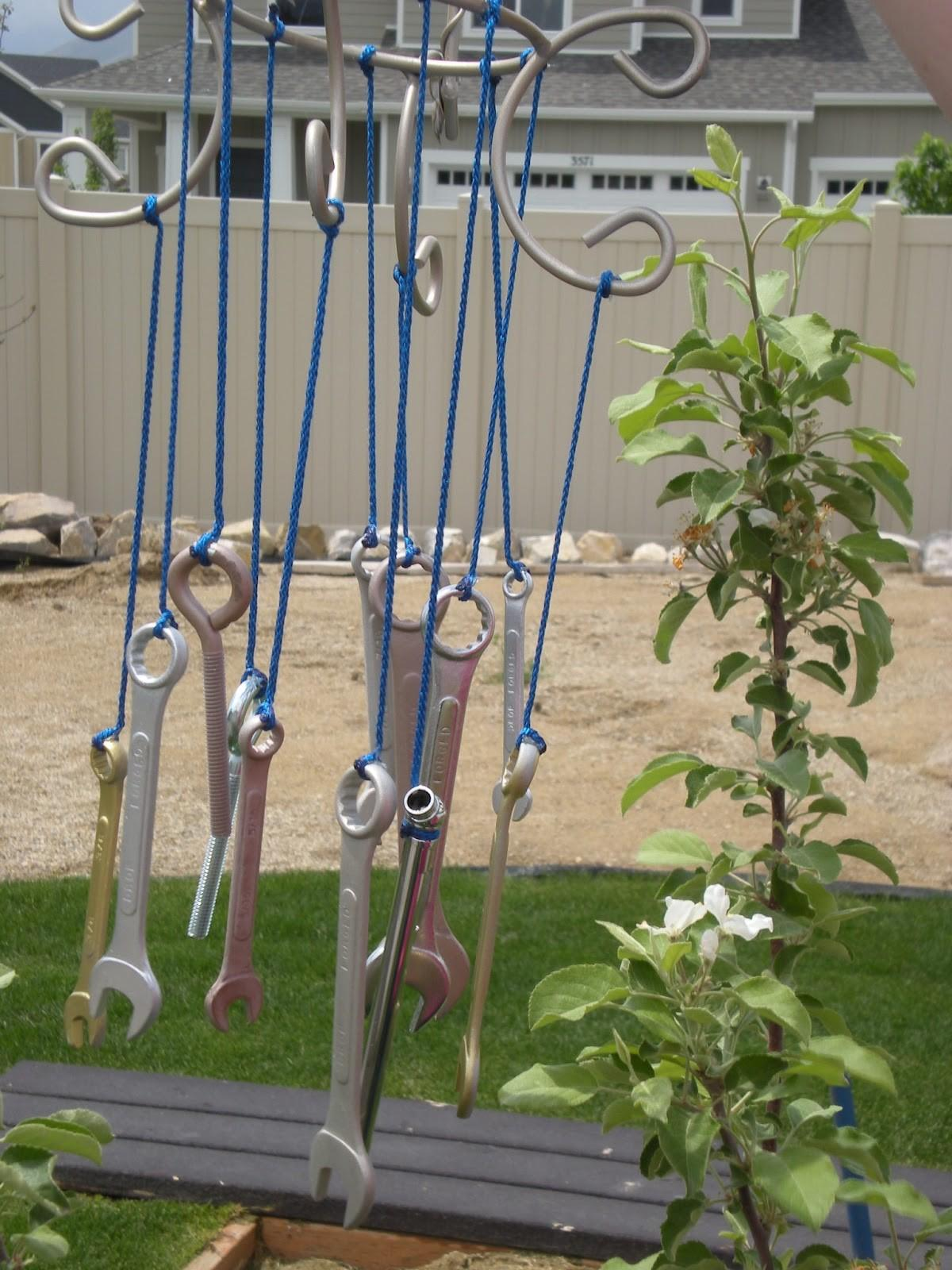 Hot Glue Sparkle Diy Tool Wind Chime