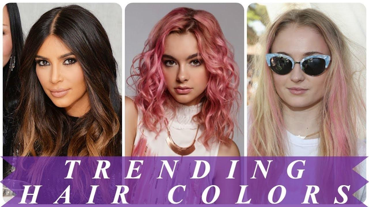 Hot New Hair Color Ideas 2018 Women
