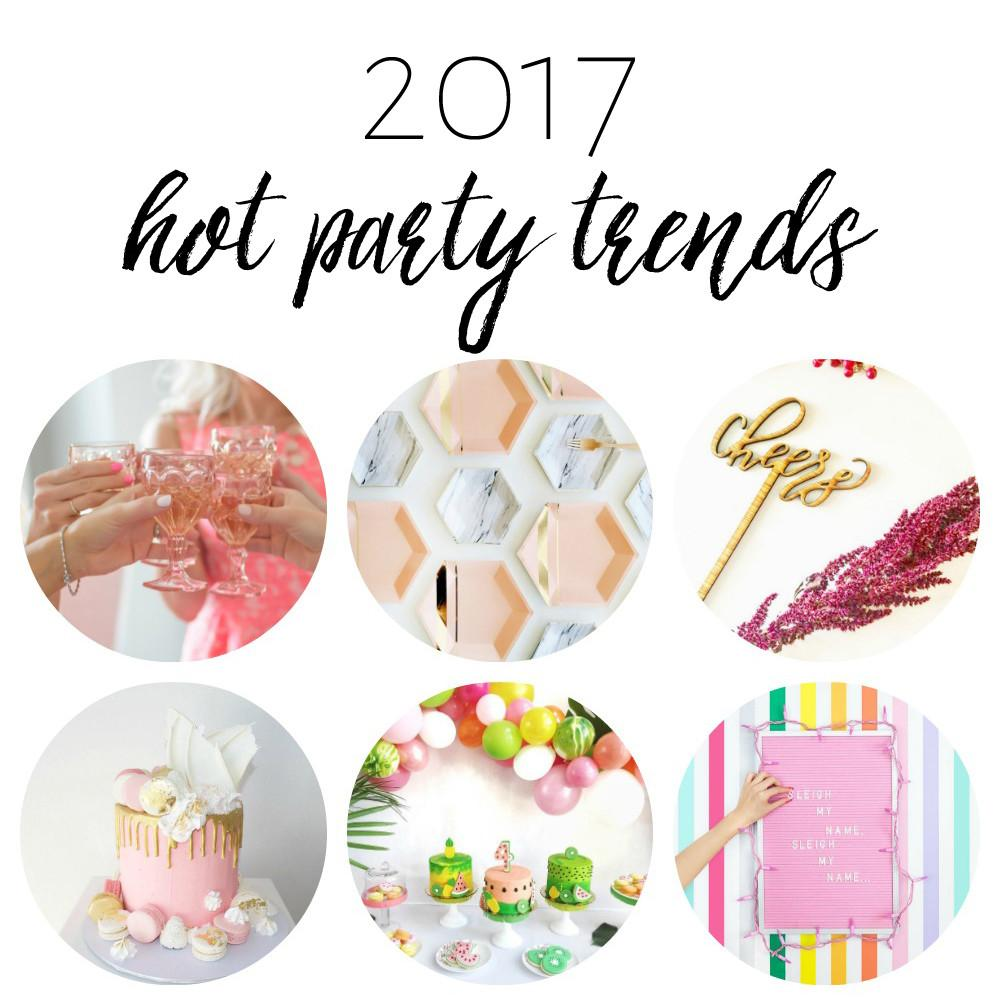 Hot Party Trends 2017 One Stylish
