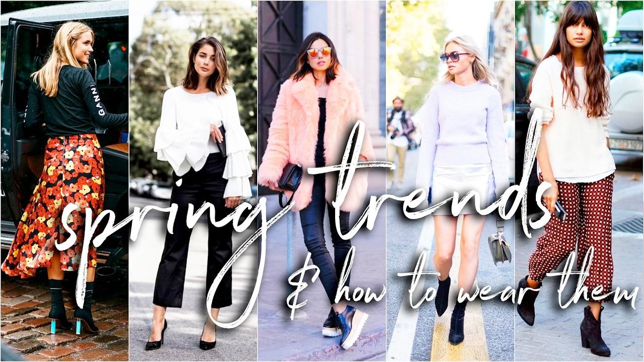 Hot Spring Trends 2017 Wear