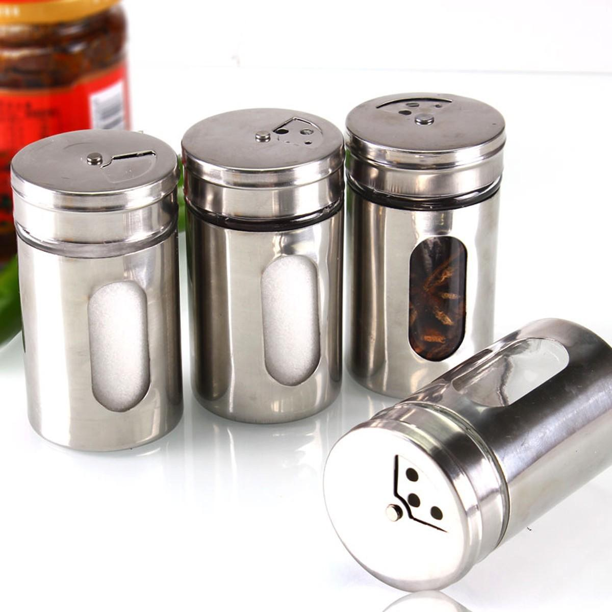 Hot Style Different Needs Rotating Holes Spice Jars
