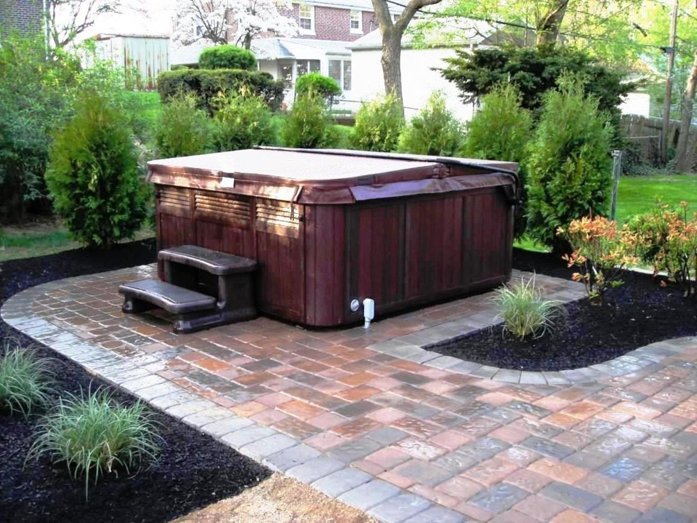 Hot Tub Patio Ideas Home Design