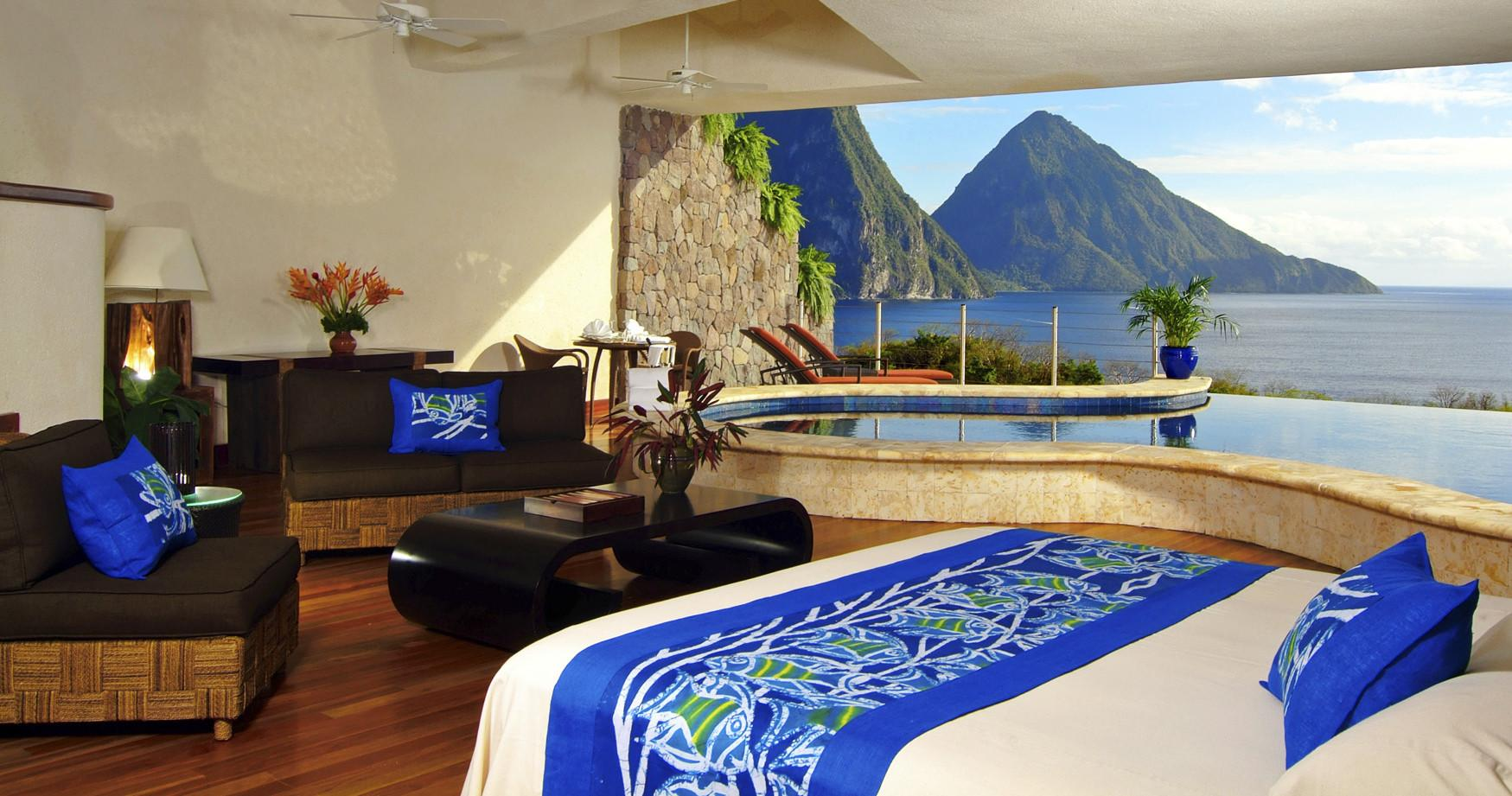 Hotel Jade Mountain Lucia Luxury Travel