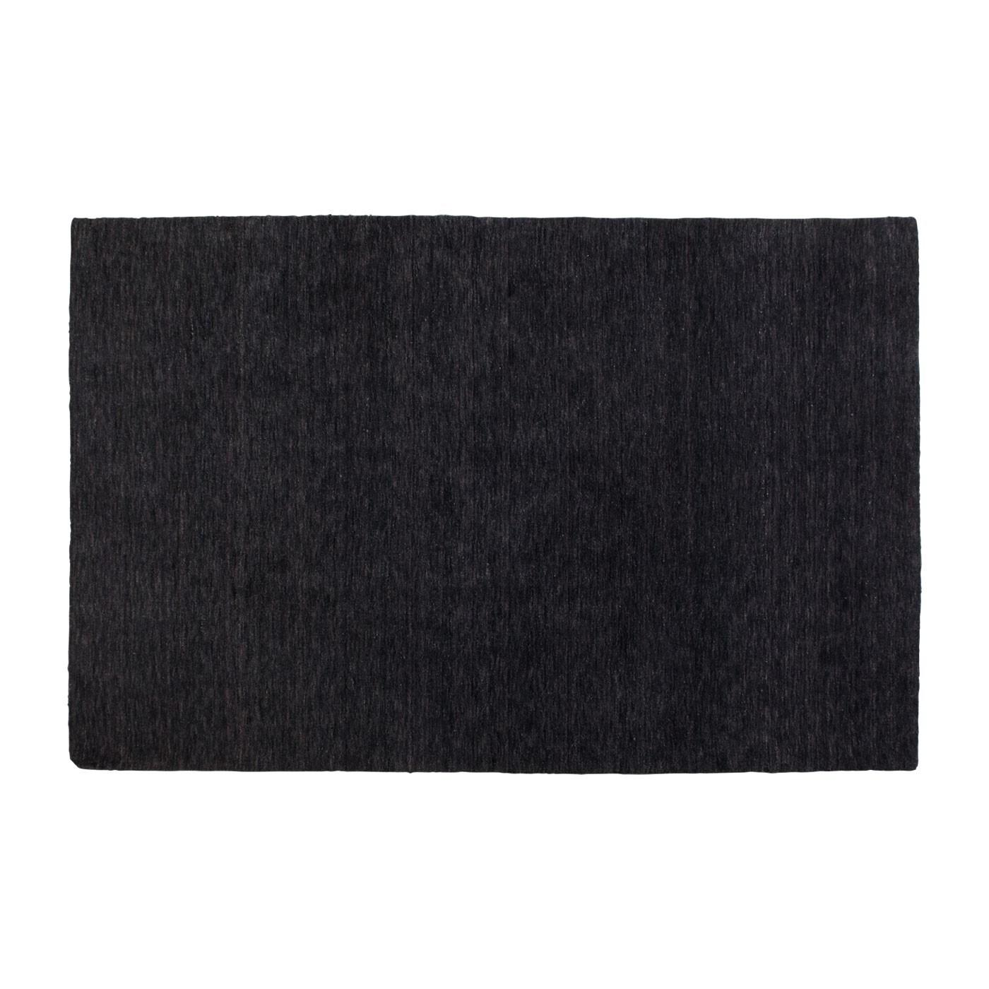 Hotel Rug Modern Black Area Blu Dot