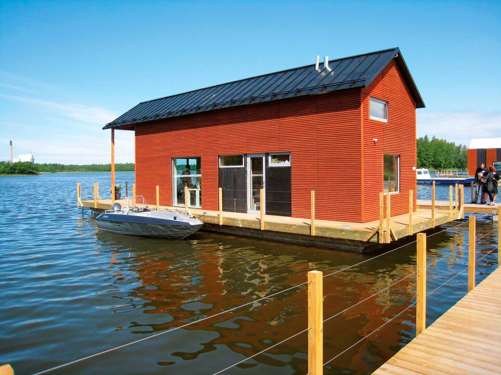 House Building Function Floating Home Panelized