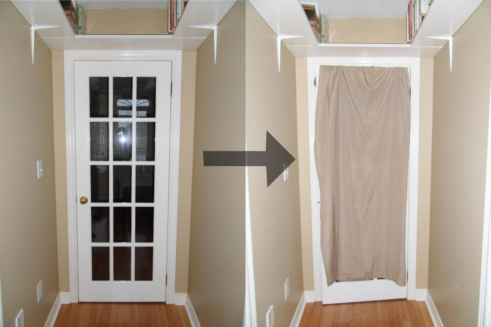 House But Home French Door Cover
