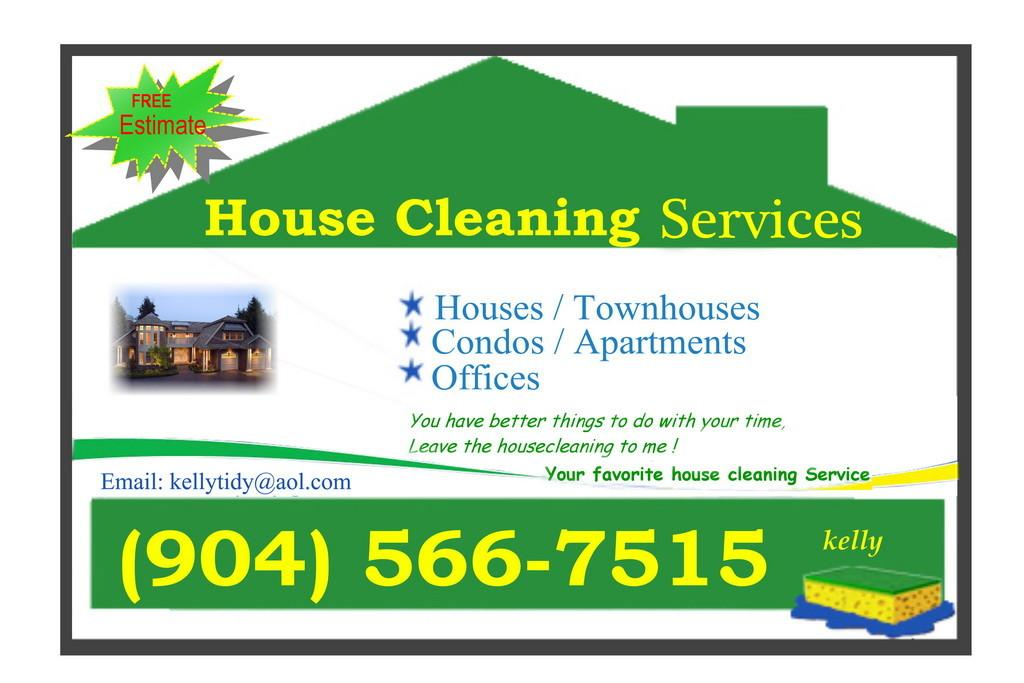 House Cleaning Business Cards Ideas Elegant