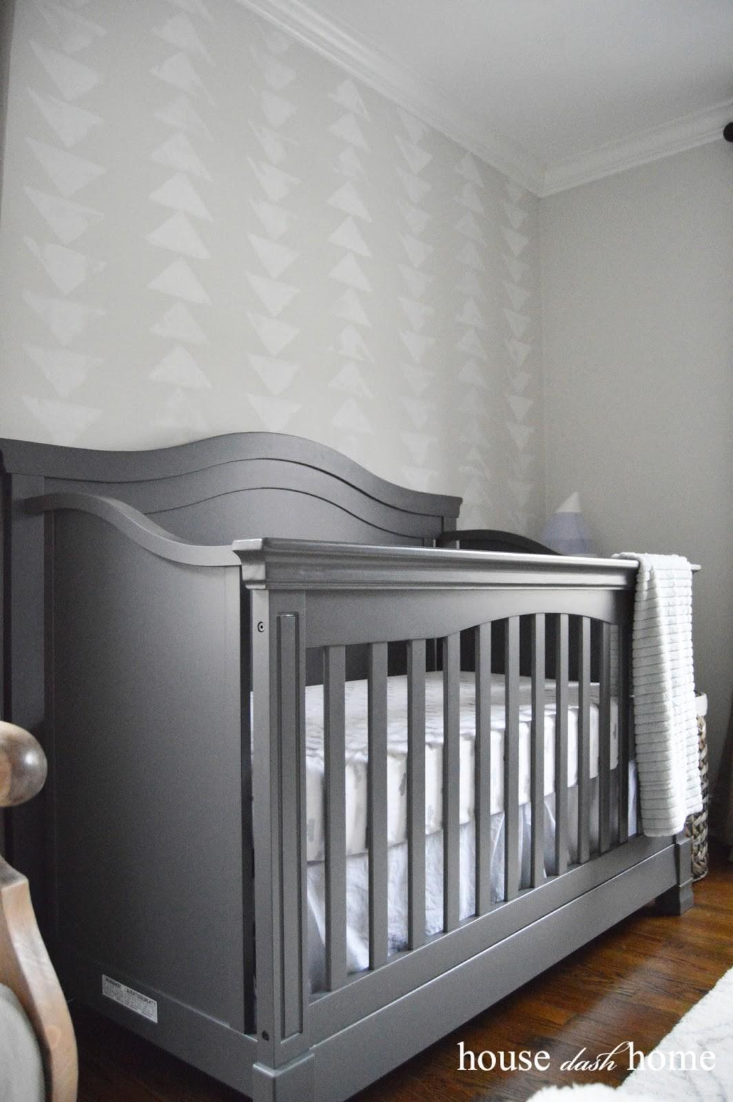 House Dash Home Nursery Mountain Accent Wall
