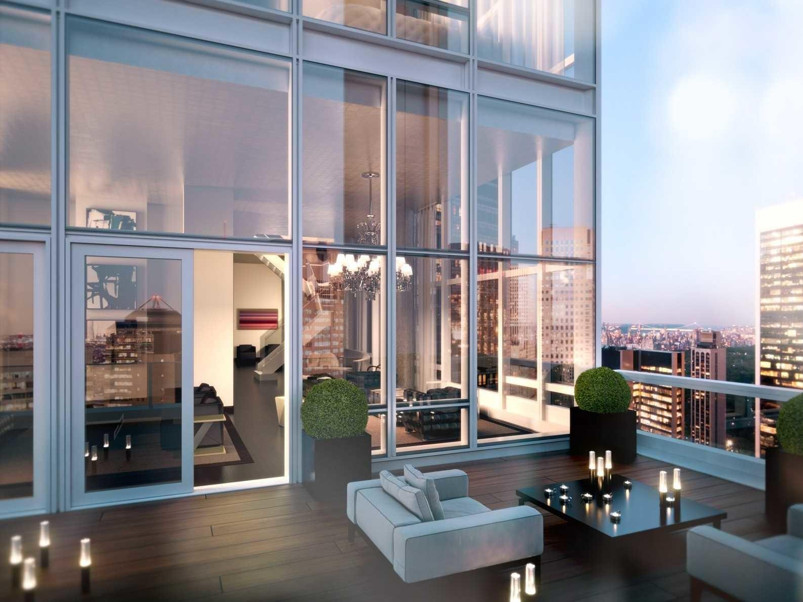 House Day Unfinished Penthouse Manhattan