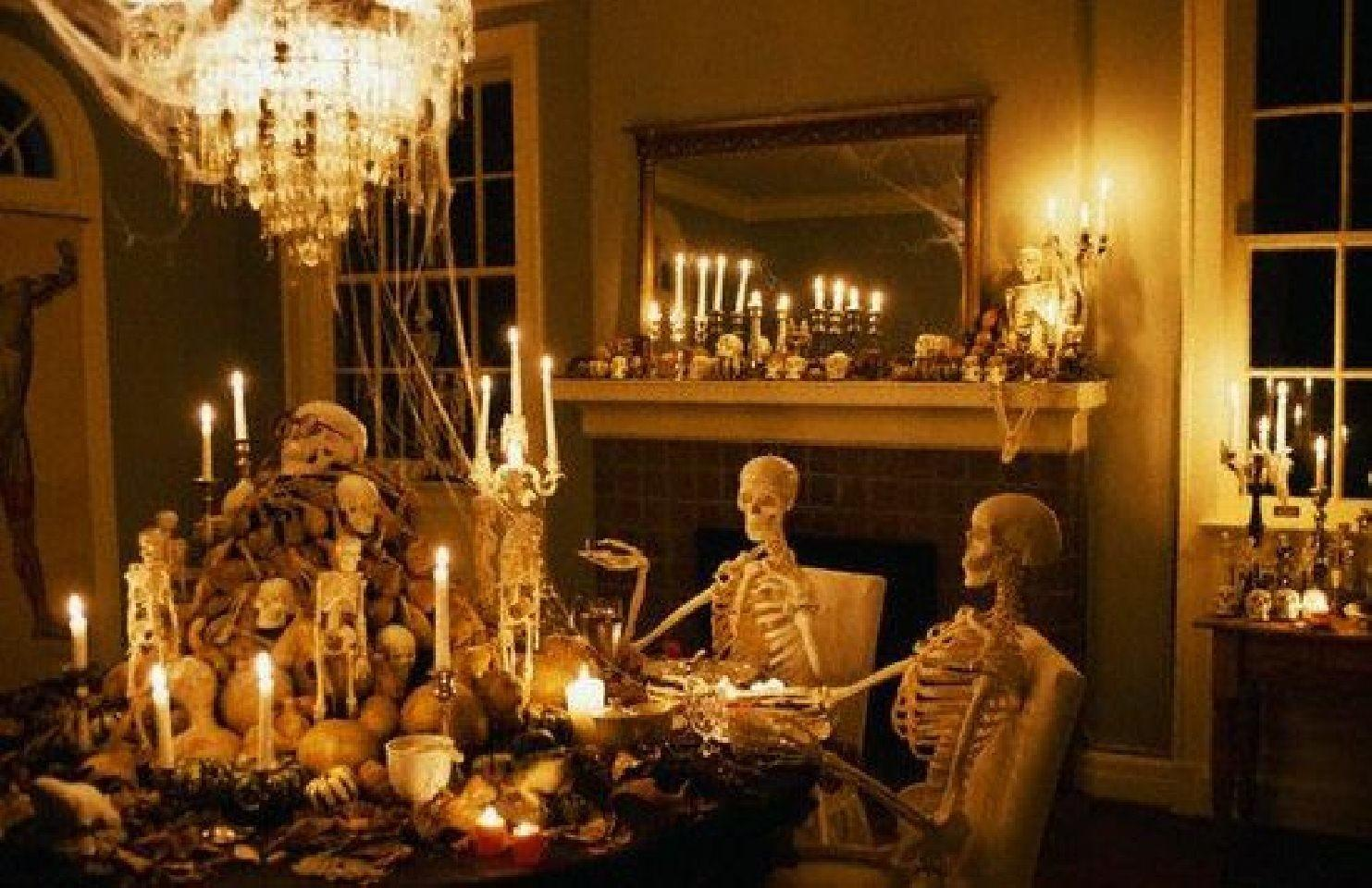 House Decoration Ideas 2017 Halloween Party Lighting